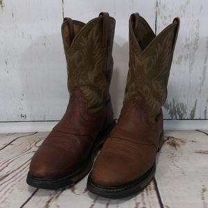 Ariat WorkHog Western Work Boot Aged Bark 11EE